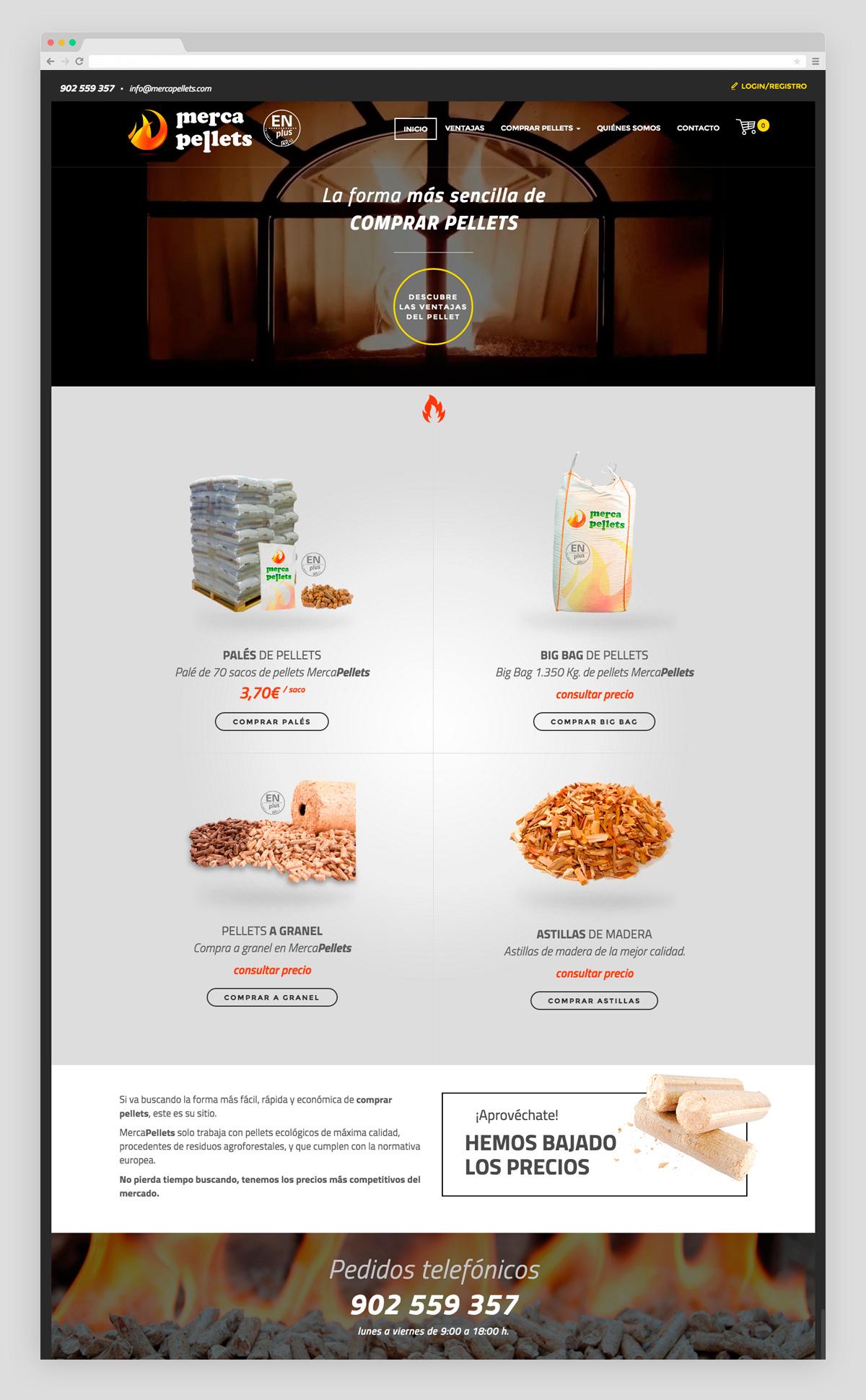 Imagen adicional 1 del proyecto Merca Pellets
