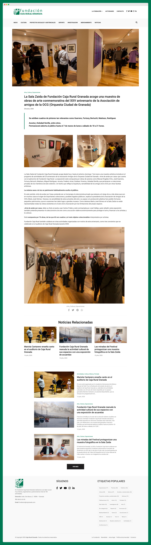 Imagen adicional 2 del proyecto Fundación Caja Rural Granada