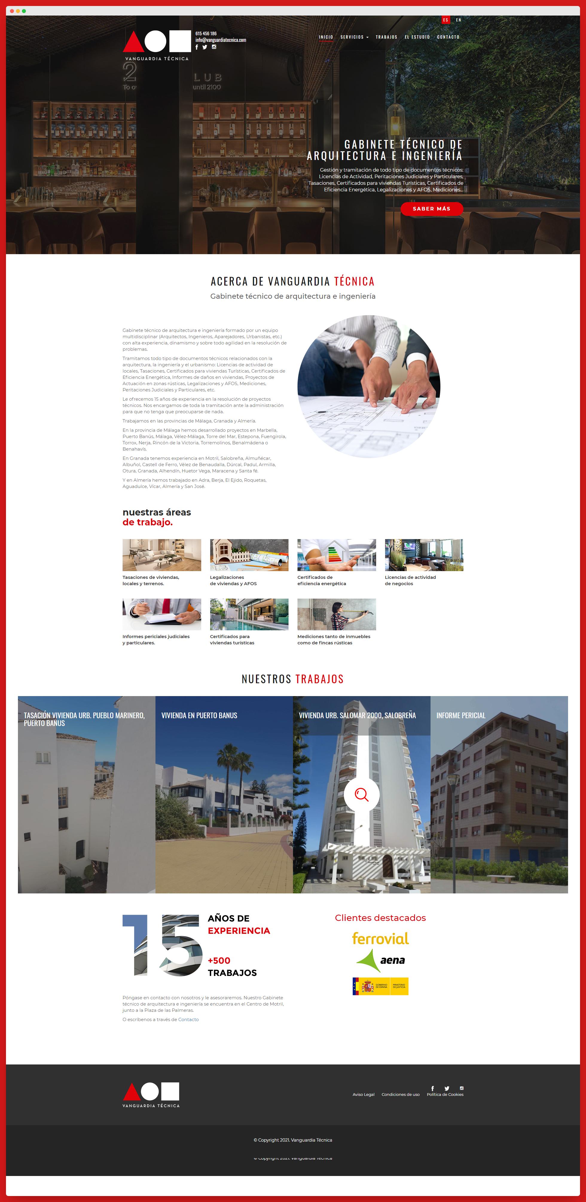 Imagen adicional 3 del proyecto Vanguardia Técnica
